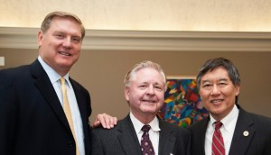 Siemens President and CEO, Eric Spiegel, RMI President Mike Galiazzo, UMD President Wallace Loh