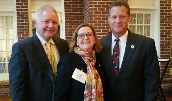 Mike Galiazzo, President of RMI of Maryland, Pam Ruff, Executive Director of Maryland Economic Development Association, and Steven R. Schuh, County Executive of Anne Arundel County