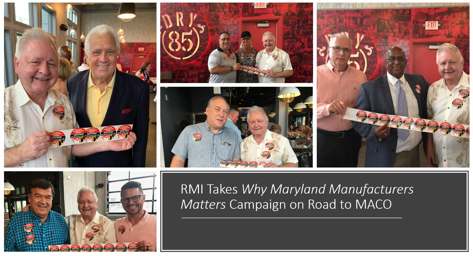 RMI Takes Why Maryland Manufacturing Matters Campaign on the Road to MACo in Ocean City
